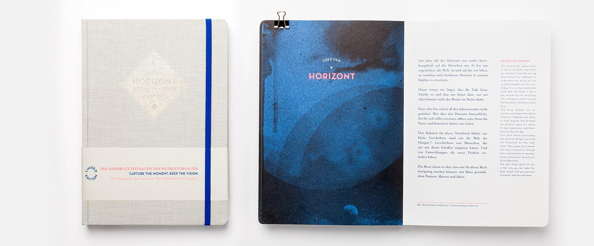 Notizbuchwelt - Über dem Horizont: Eine Notizbuch-Hommage an das Fliegen
